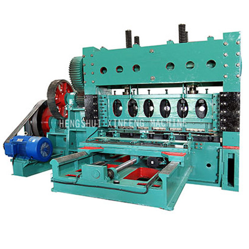 XF-4-2000 (100T) heavy Expanded mesh machine (Sheet Moving)