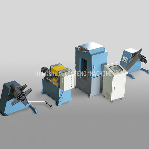 Expanded metal mesh machine line (roll in & roll out)