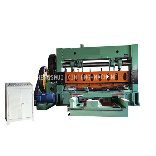 XF-4-2500 (100T)expanded metal machine(Sheet Moving)