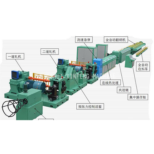 Cold Rolled Steel Bar Machine