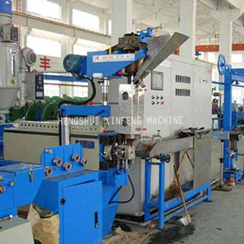 High speed wire PVC coating machine line