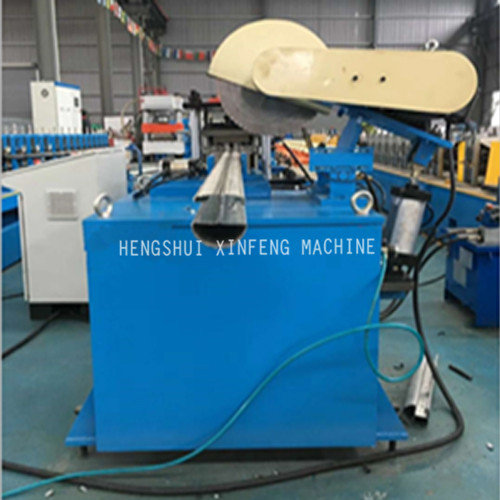 Fence peach post forming machine