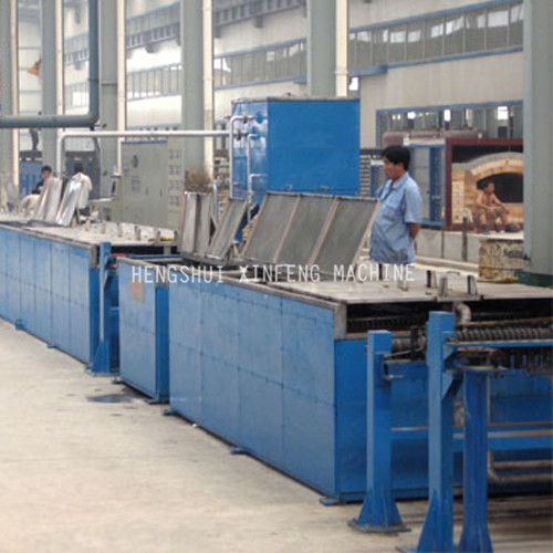 Steel Wire Hot Dip Galvanizing Production line